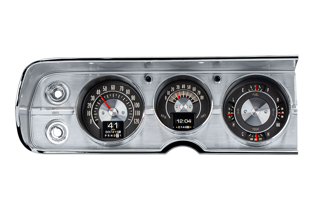 RTX-64C-CVL-X: shown with optional gauge carrier/ bezel.