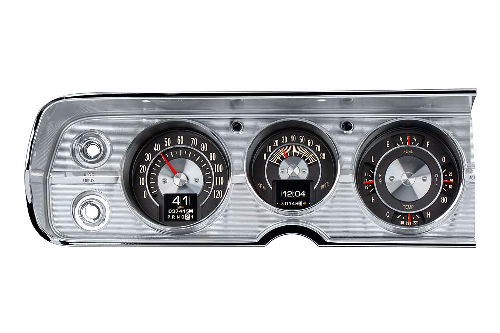 RTX-64C-CVL-X: shown with optional gauge carrier/ bezel.