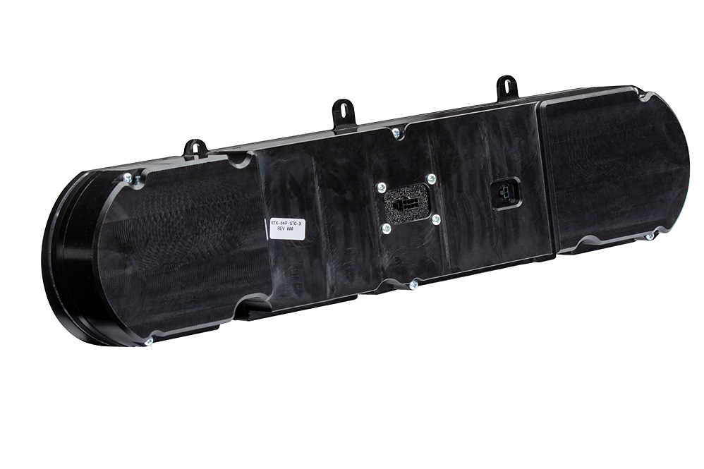 RTX-64P-GTO-X: Rearview