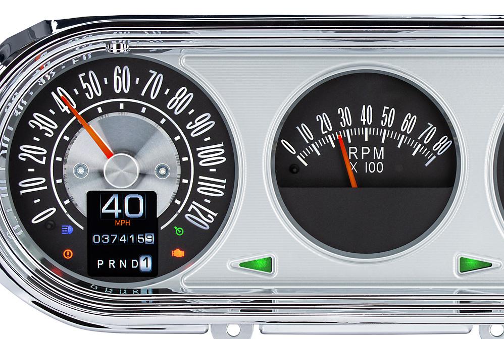 RTX-63C-NOV-X with Indicators shown in optional gauge carrier/ bezel.