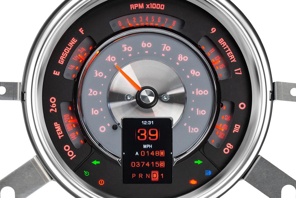 RTX-49C-X Fire and Ice Lighting Theme w/Indicators