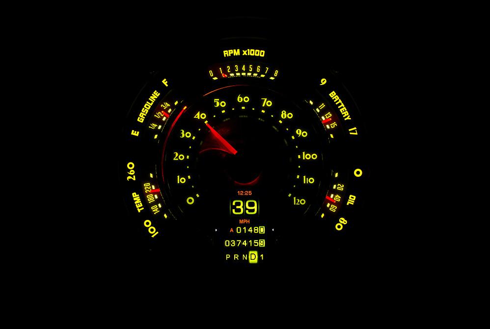 RTX-49C-X Yellow Flare Lighting Theme