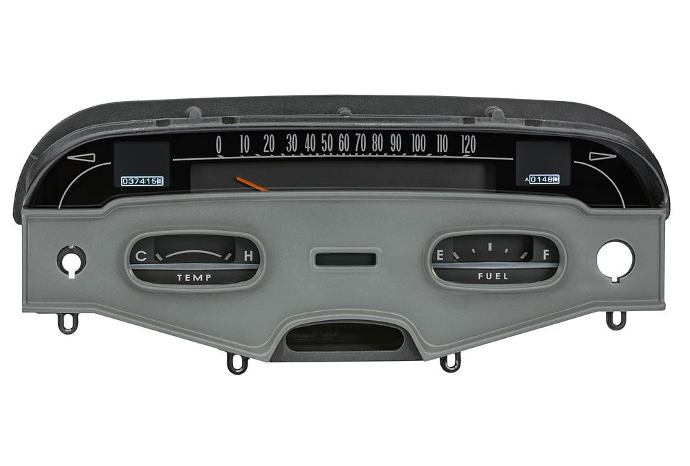 1958 Impala RTX Instruments shown with OEM dash/ trim/ bezel/ facia.