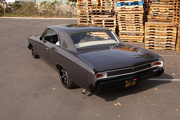 Outdoor 1966 Chevelle