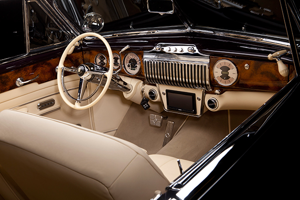 1947 Kindig Cadillac Interior
