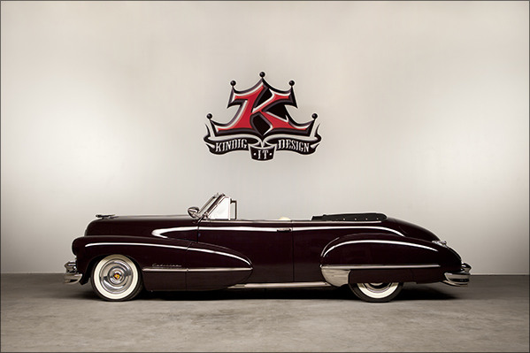 1947 Kindig Cadillac Profile