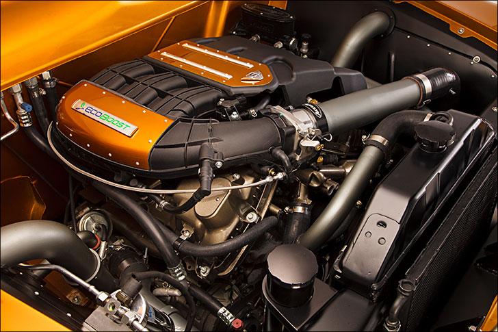 Street Rodder '51 Ford Horsepower
