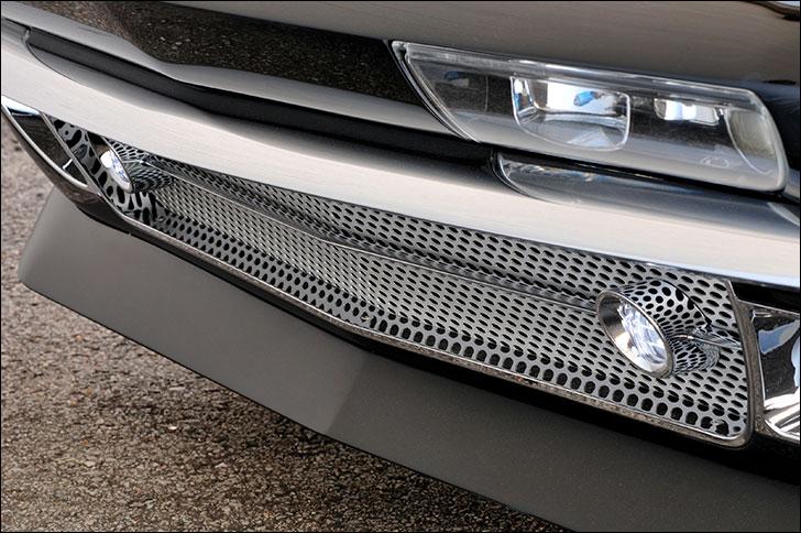 Alan Woodall Corvette grille
