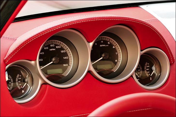Alan Woodall Corvette instrument cluster