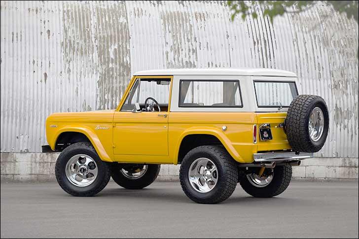 1969 Yellow Bronco