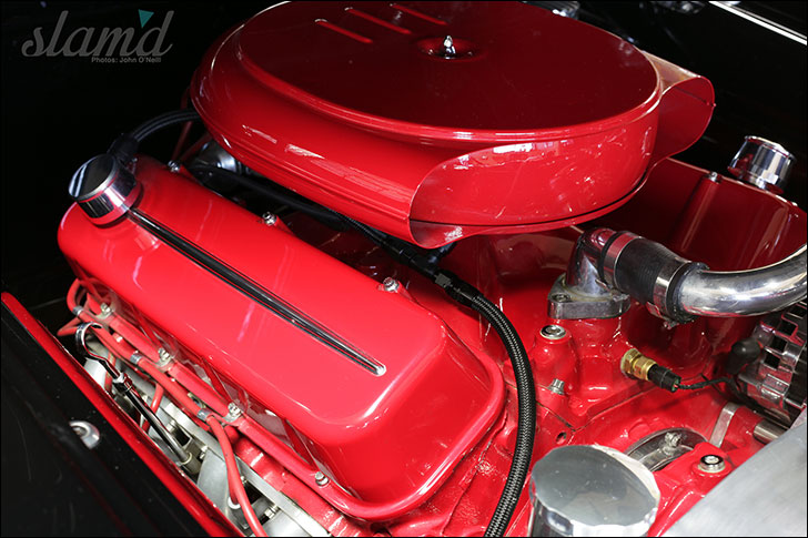 Carrillo 1957 Buick: Under the hood