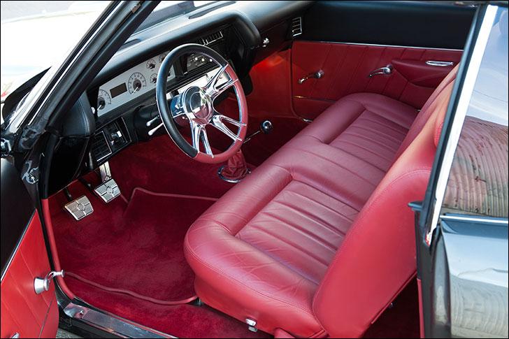 Kindig 1970 Chevelle: J.S. Custom Interior