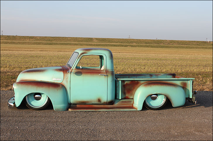 Tim Mainieri 53 Chevy Truck: New Patina