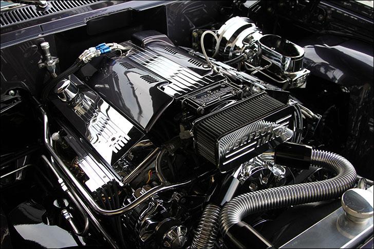 6 Degrees: Slam'd 64 Impala engine