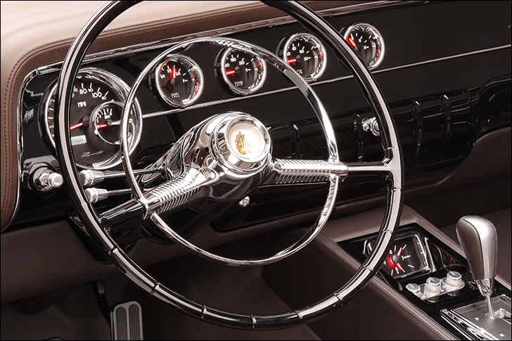 Motor Market From a Jack to a King Gil Losi 56 Plymouth: Classy Dakota Digital Gauges