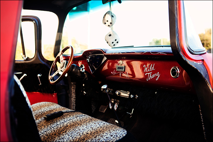 Slam'd '59 Apache: Interior