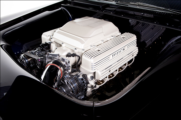 Kindig '59 Buick Invicta: LSA engine
