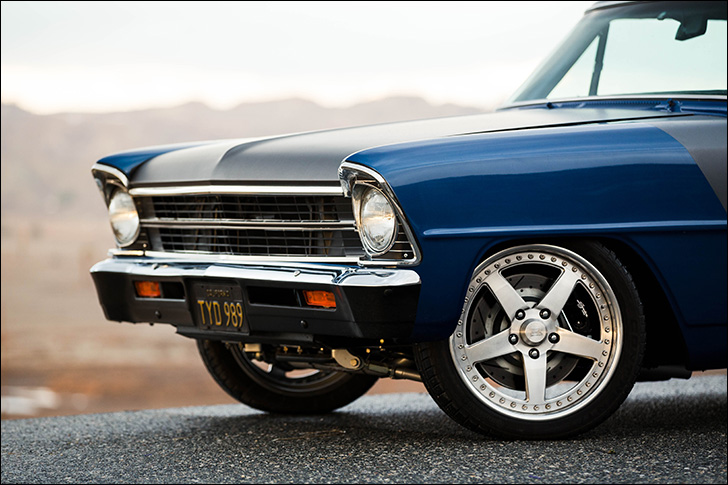 Jeff King '67 Nova: After two decades of tinkering