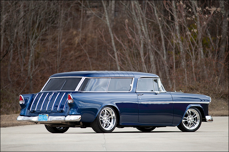 Hot Rod Dynamics '55 Nomad: A Thing of Beauty