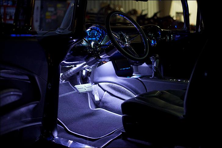 Hot Rod Dynamics '55 Nomad: Interior Glow