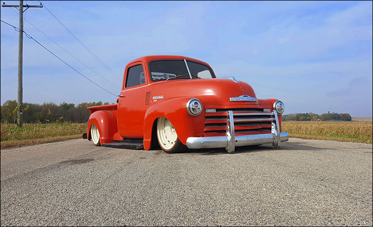 Stoner 49 chevy truck: In time for 2016 SEMA