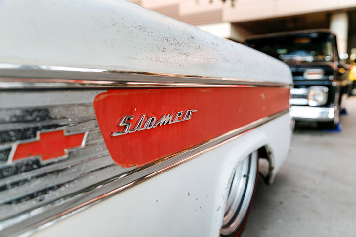 "stoner's speed shop '58 slameo: Earned the name ""Slameo"""