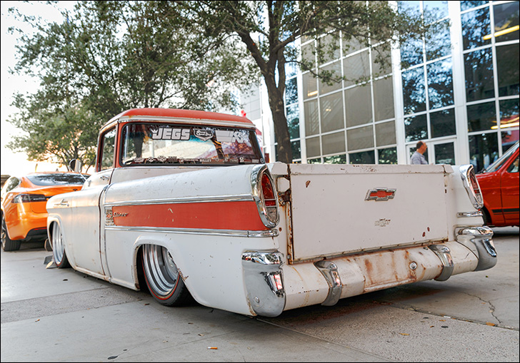 stoner speed shop '58 slameo: old, modern, and luxurious