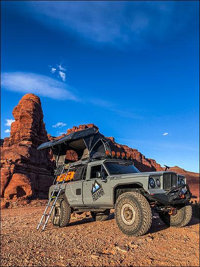 RoamR Tomahawk: Camping Pic