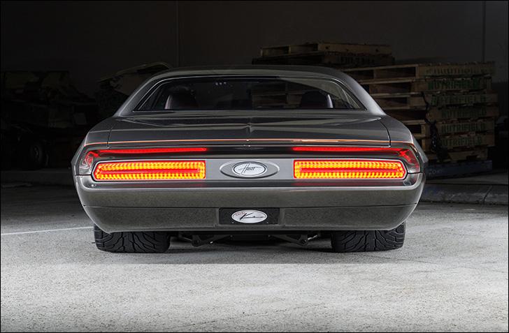 Havoc '70 Challenger: Rear