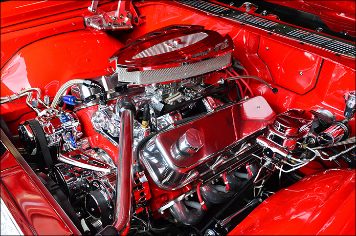 Charles McClendon '71 Chevelle: The Guts