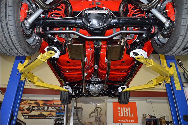 Charles McClendon '71 Chevelle: Undercarriage