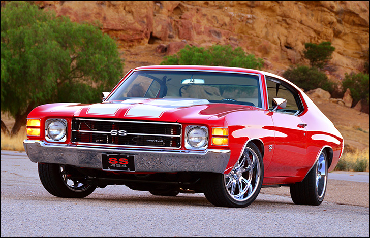 Charles McClendon '71 Chevelle: