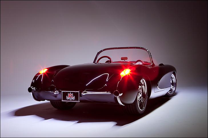 Kindig 56 Vette: Tail lights