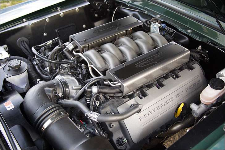 Revology Highland Green 68 Fastback: 435hp 5.0L Coyote Engine