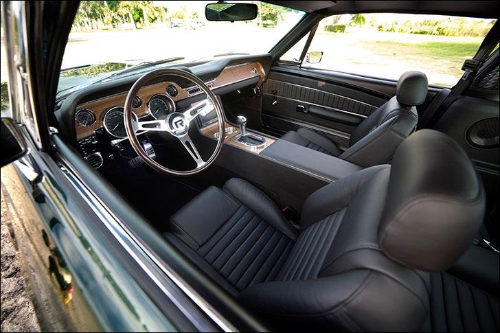Revology Highland Green 68 Fastback: Interior