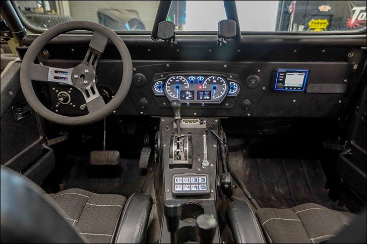 Rockstar GRDLOC Jeep: Center Console