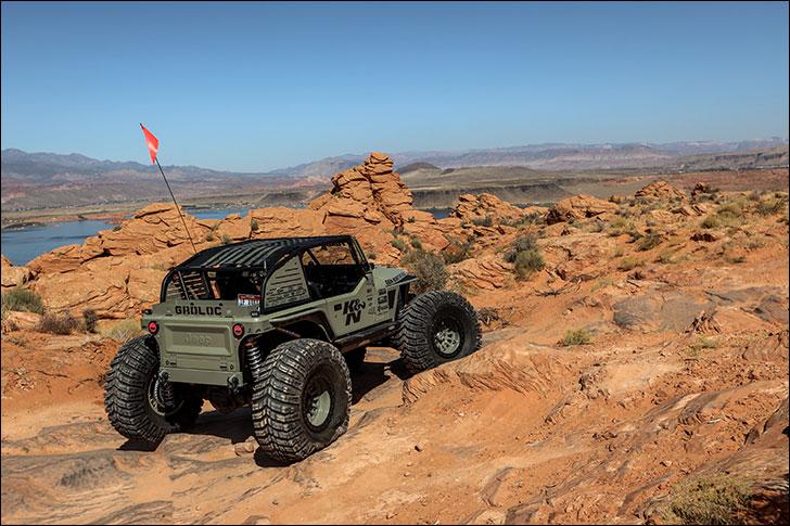 Rockstar GRDLOC Jeep: Back