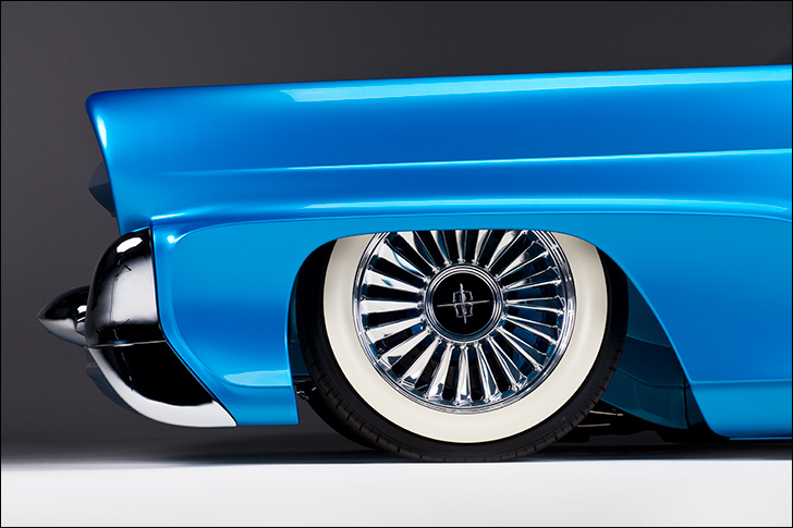 Kindig 58 Lincoln: Wheels