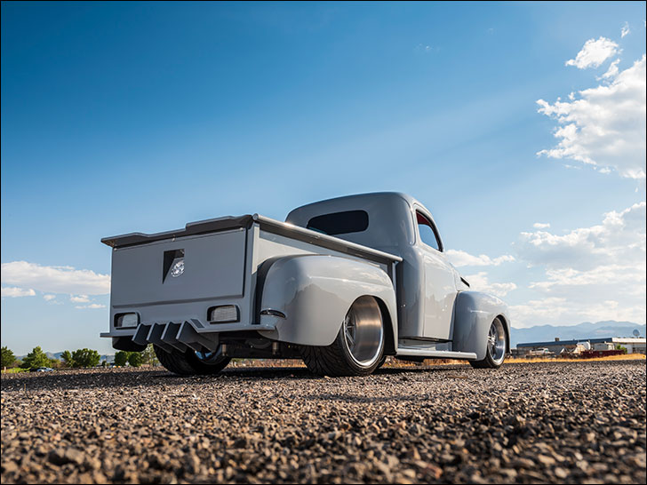 Weaver Customs' Friction '50 Ford