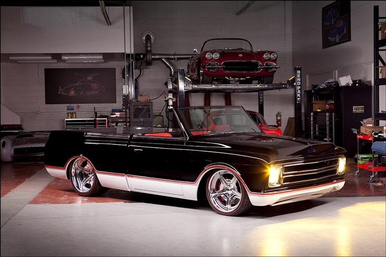 Kindig '67 C10 Crazy Cool: Ultimate C10: Retracting Roof