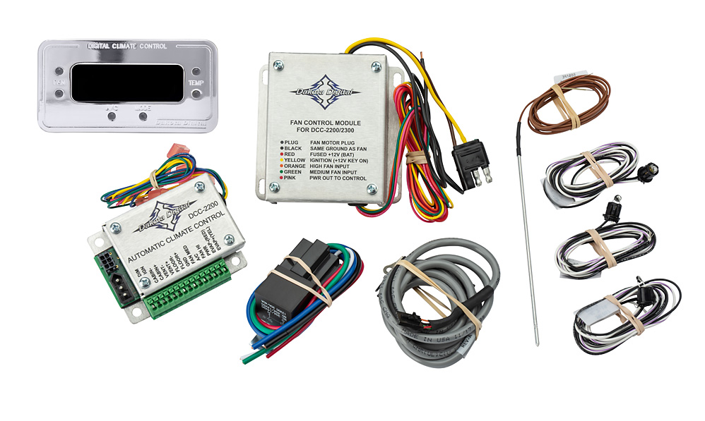 DCC Included Parts