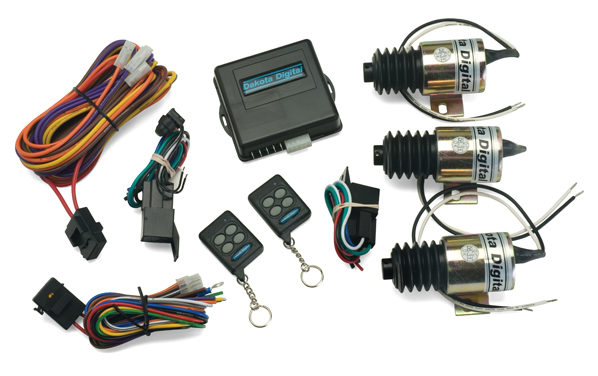 Four-Function Remote Entry Kits on