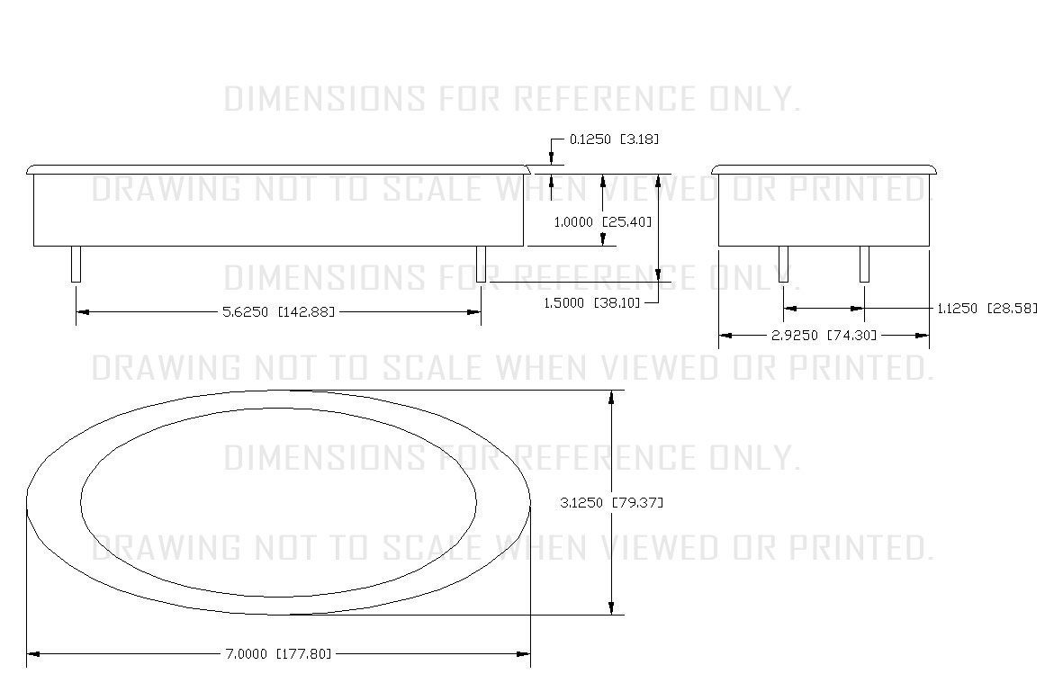 Ion Series 6 Gauge Kit Dakota Digital Speedometer Wiring Diagram 01 Dimensions