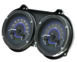 VHX-67C-CAM-C-B: Carbon Fiber Background, Blue Lighting