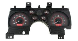 VHX-90C-CAM-C-R: Carbon Fiber Background, Red Lighting