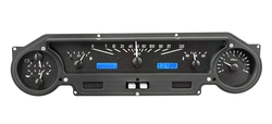 VHX-64F-FAL-K-B: Black Alloy Background, Blue Lighting