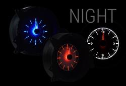 VLC-69F-MUS: Analog Clocks at Night