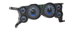 VHX-79F-MUS-C-B: Carbon Fiber Background, Blue Lighting