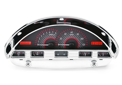 Carbon Fiber Background, Red Lighting shown with OEM dash/ trim/ bezel/ facia.