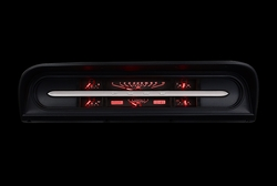Red Lighting at Night shown with OEM dash/ trim/ bezel/ facia.